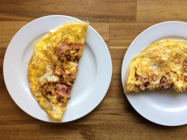 Frühstückscalzone