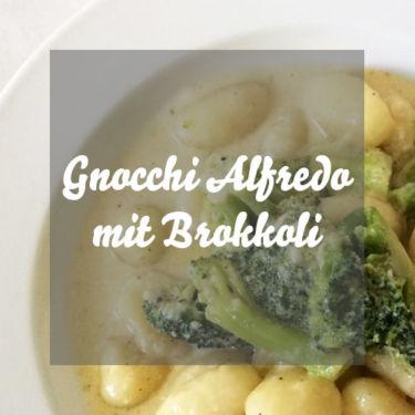 Gnocchi Alfredo mit Brokkoli