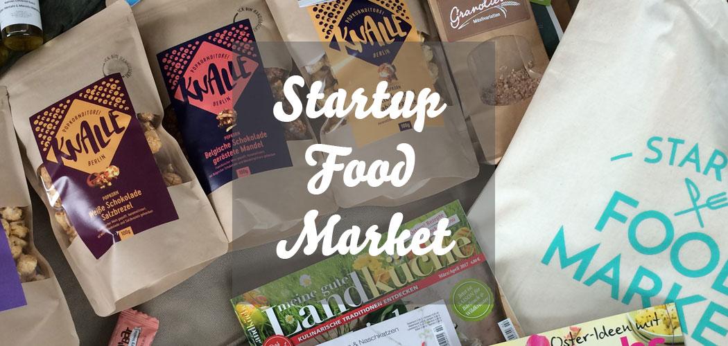 Startup Food Market in Berlin