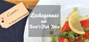 Lachs mit Bart's Fish Tales