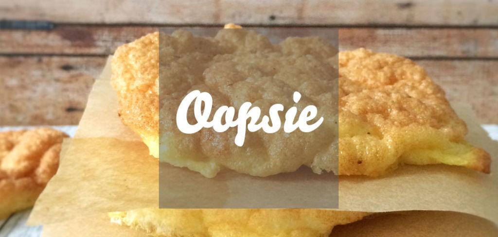 Oopsie Eiweißbrötchen Cloud Bread