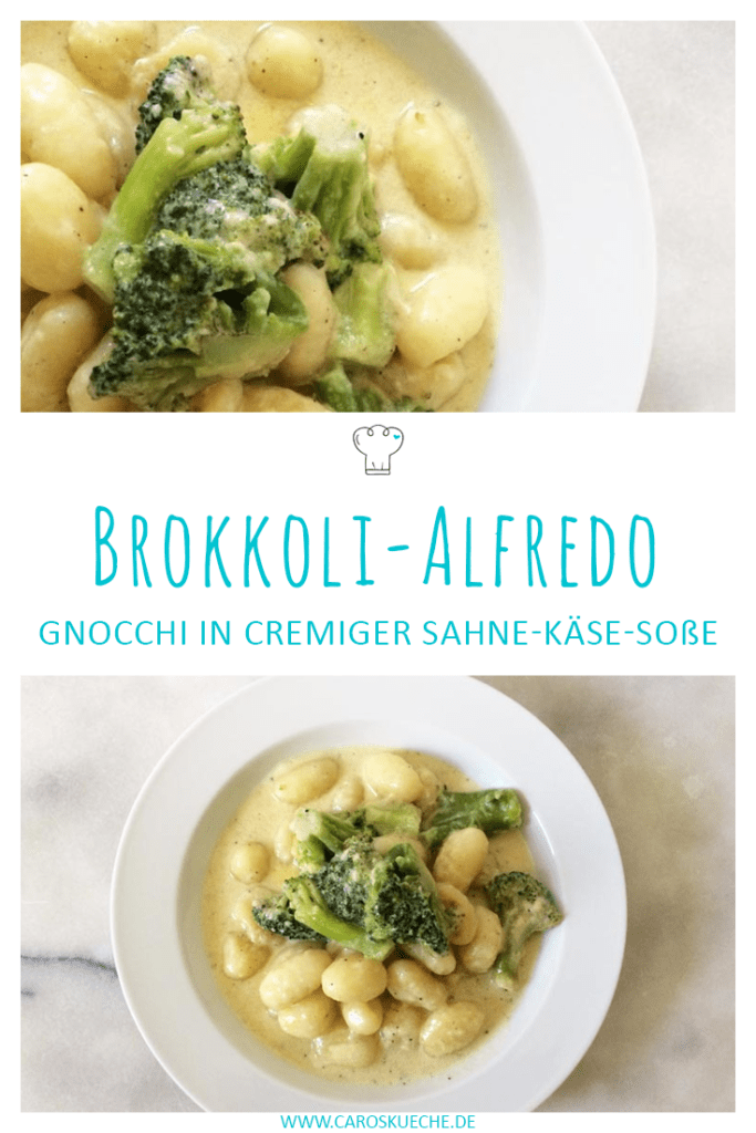 Cremige Alfredosoße mit Brokkoli & Käse