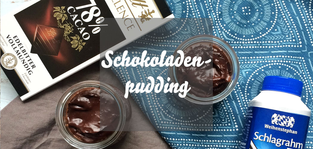 Schokoladenpudding selber machen