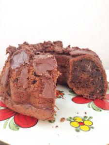 Schokoladenkuchen mit Zucchini