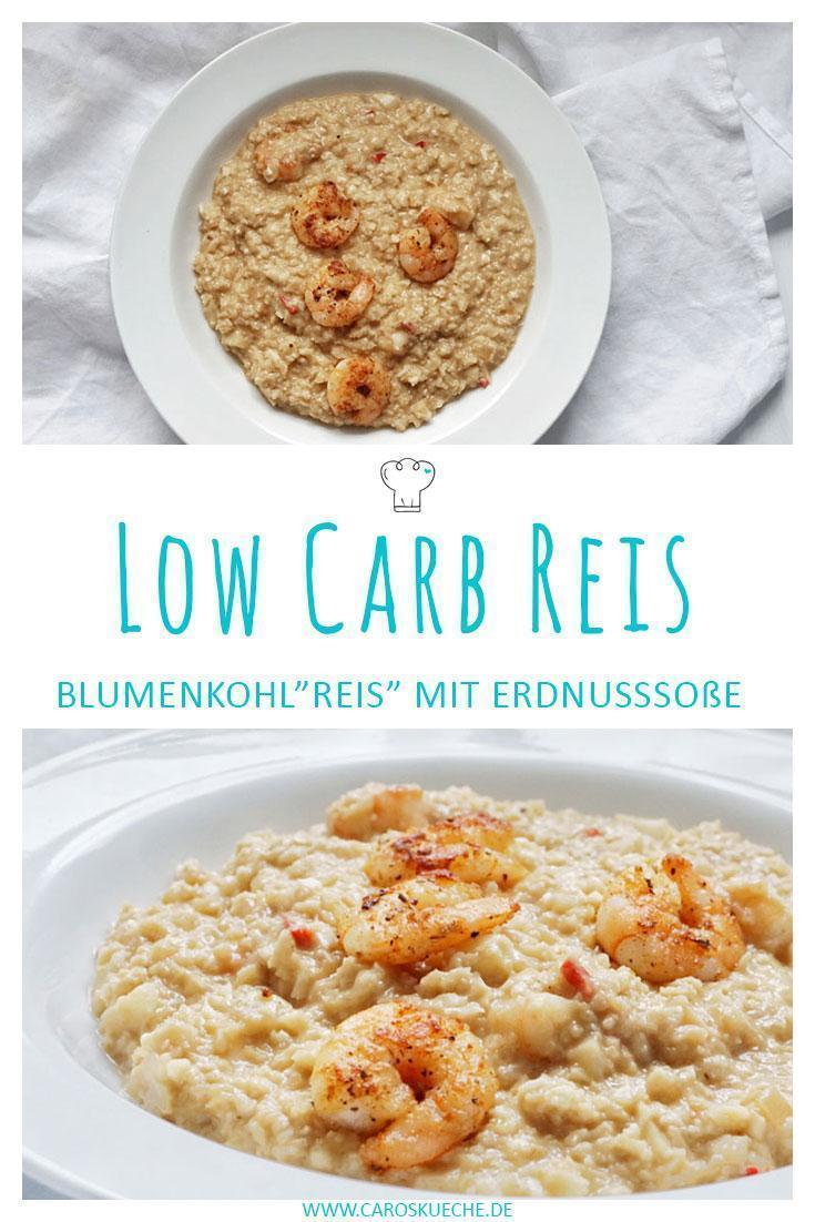 Low Carb Blumenkohlreis
