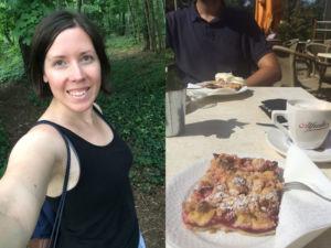 Yoga und Kuchen