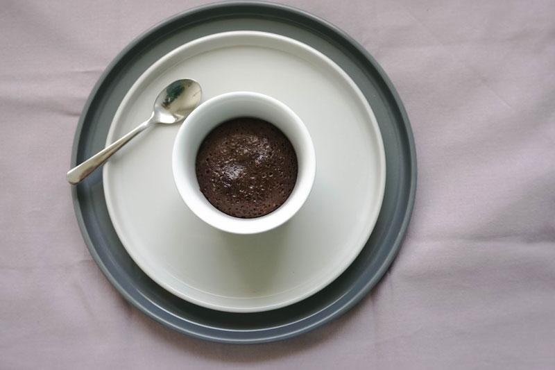 Fondant au chocolat - Schokokuchen mit flüssigem Kern