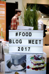 Begrüßung Food.Blog.Meet