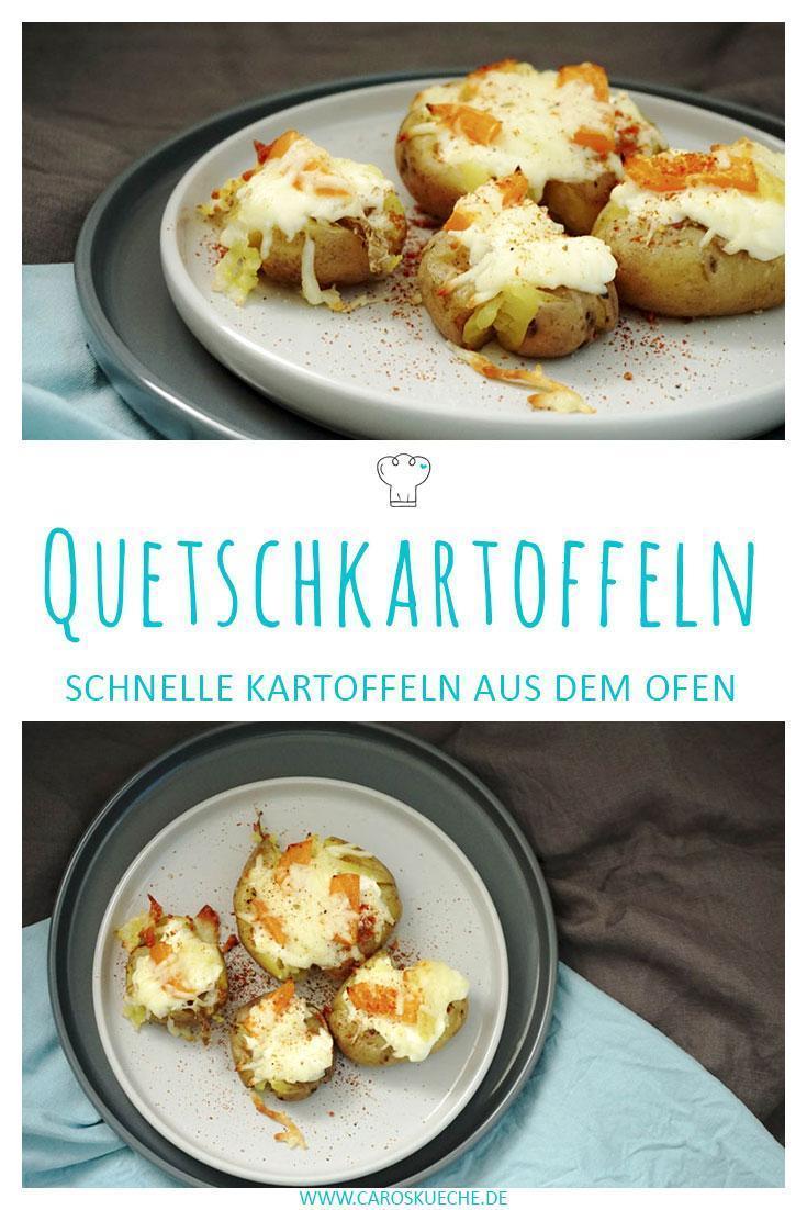 Quetschkartoffeln aus dem Ofen » Überbackene Kartoffeln