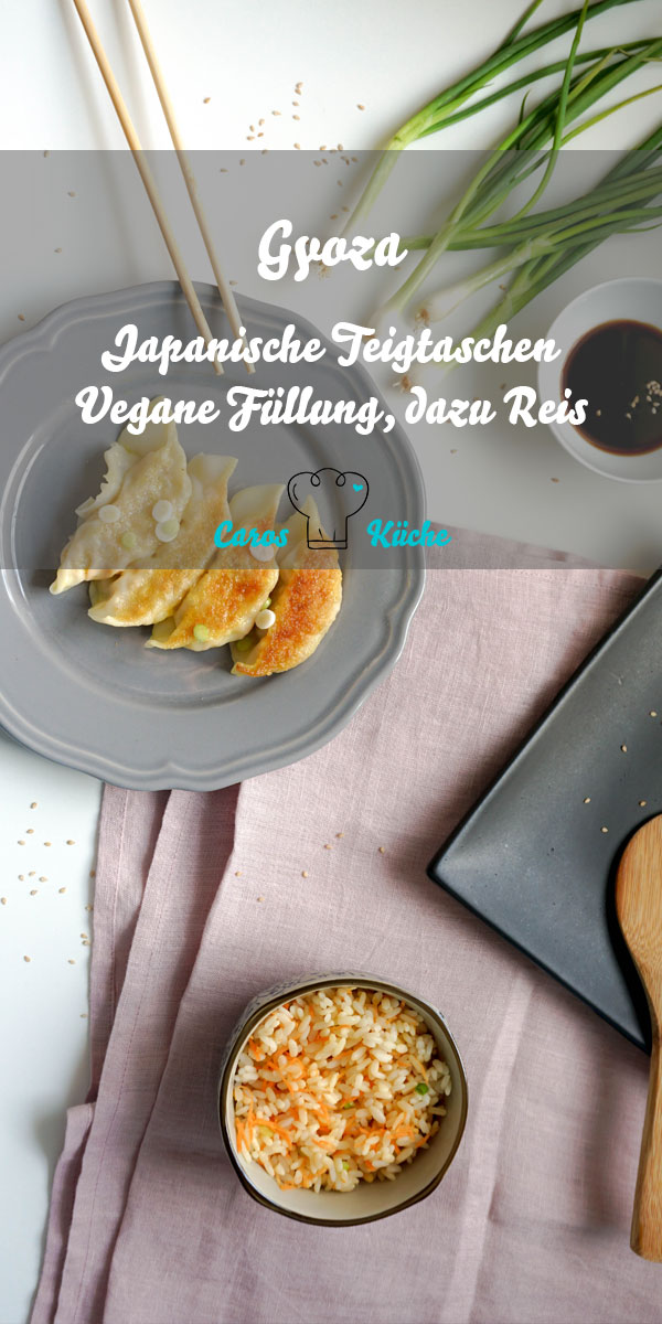Japanische Teigtaschen Gyoza