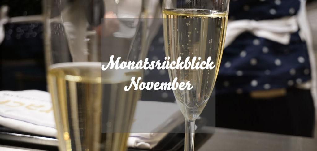 Monatsrückblick November