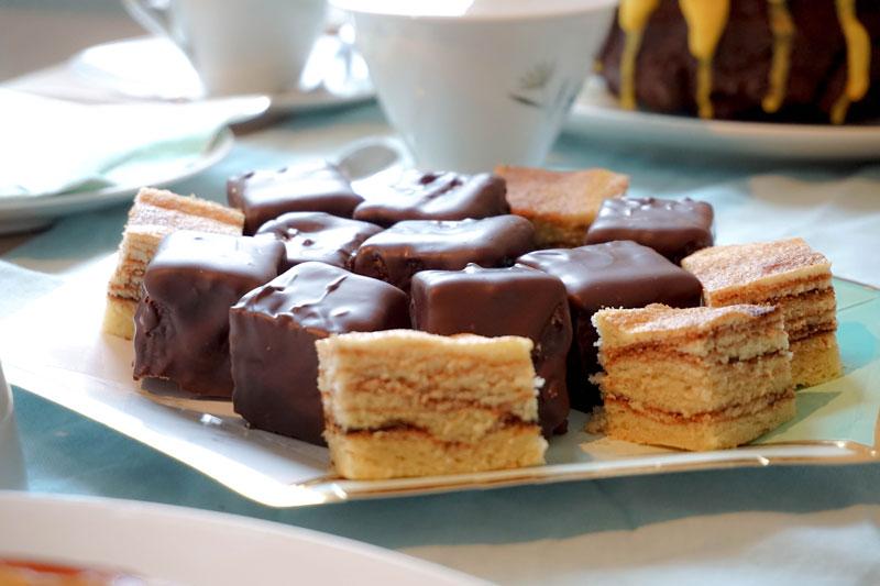 Baumkuchen Mini Baumkuchenwürfel