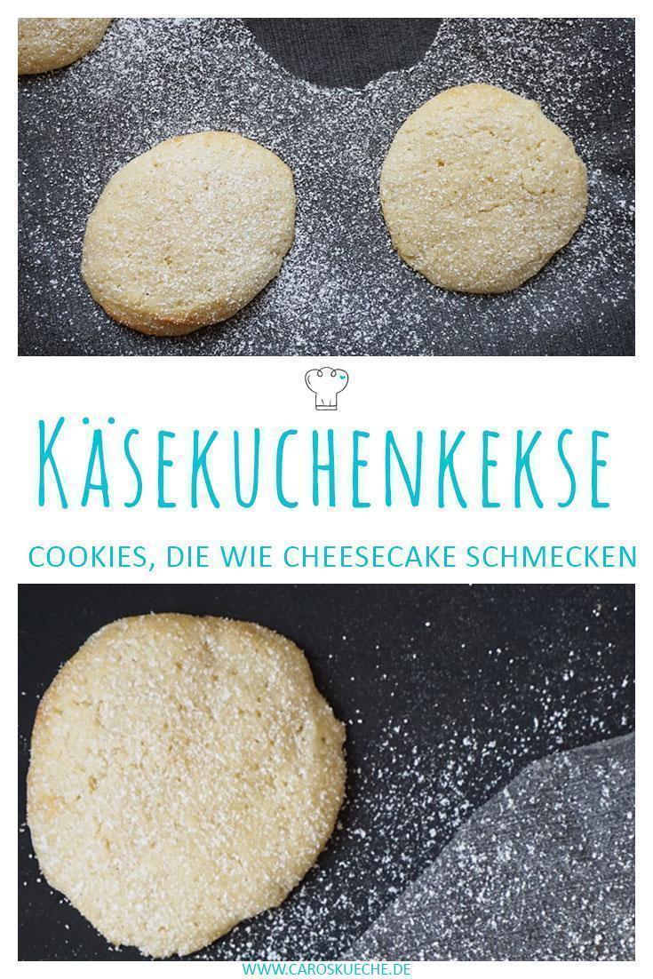 Cheesecake Cookies « Kekse wie ein Käsekuchen - so lecker & einfach!