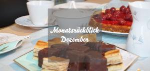 Monatsrückblick Dezember
