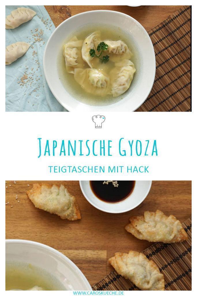 Japanische Gyoza » Rezept für Gyoza mit Hack