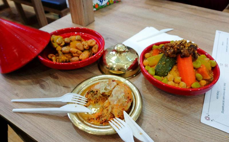 Marokkanisches Essen