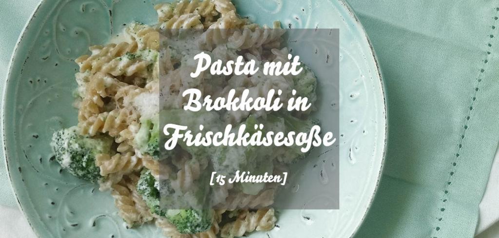PAsta mit Brokkoli in Frischkäsesoße
