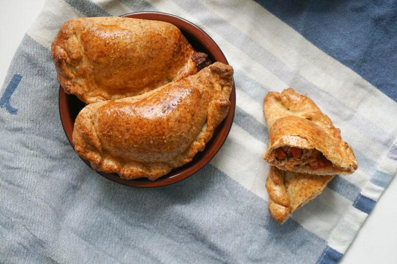 Rezept spanische Empanadas mit Thunfisch