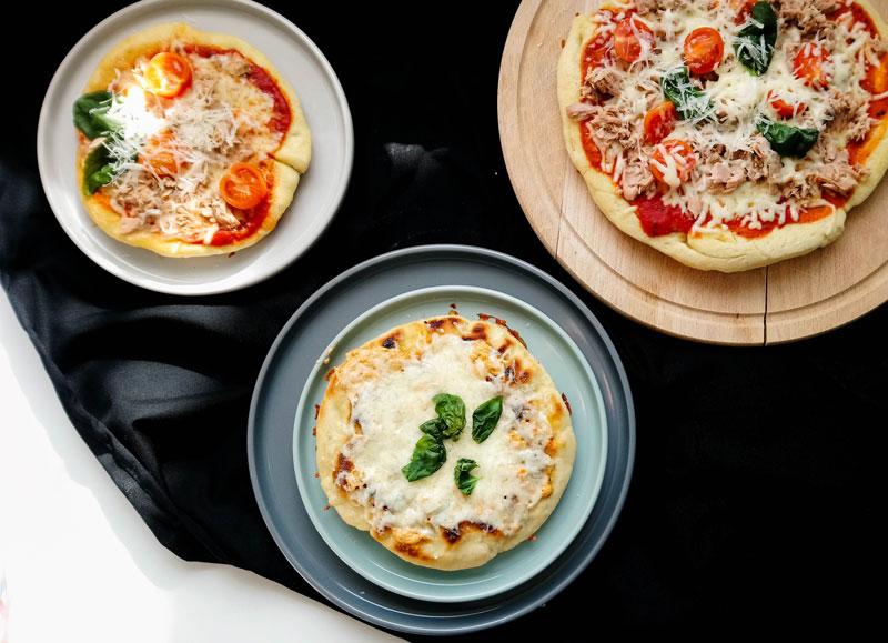 Pfannenpizza ohne Backofen