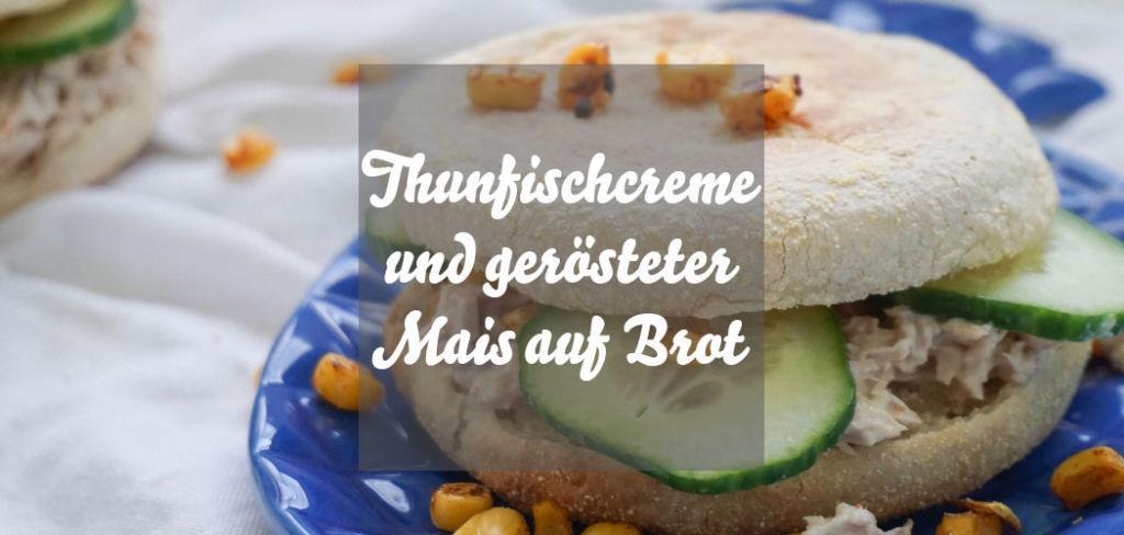 Thunfischcreme auf Brot