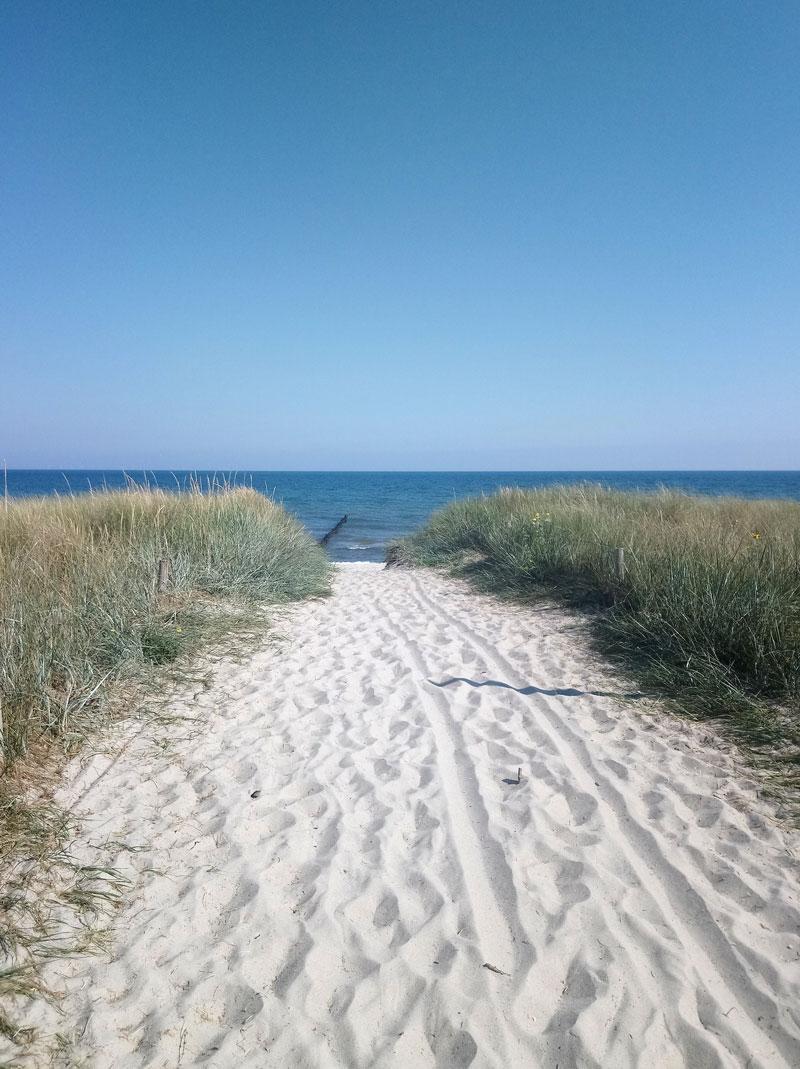 Strandaufgang Zingst Ostsee