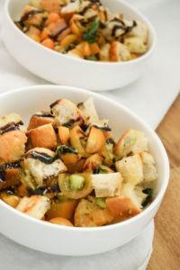 Bruschetta italienisch Salat