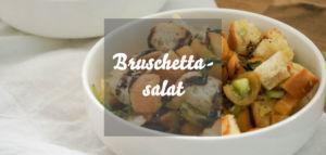 Italienischer Bruschettasalat mit Tomaten