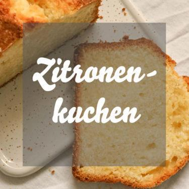 Einfacher Zitronenkuchen mit Frischkäse