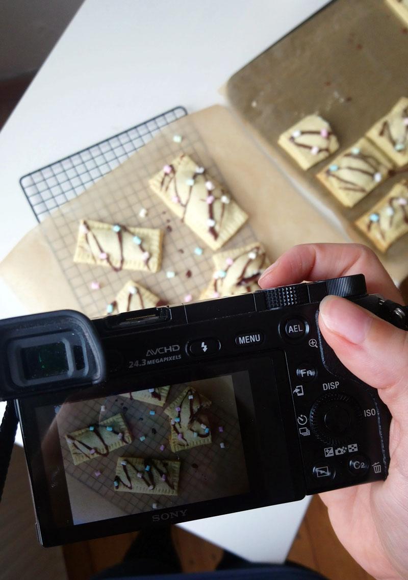 Poptarts backen und fotografieren