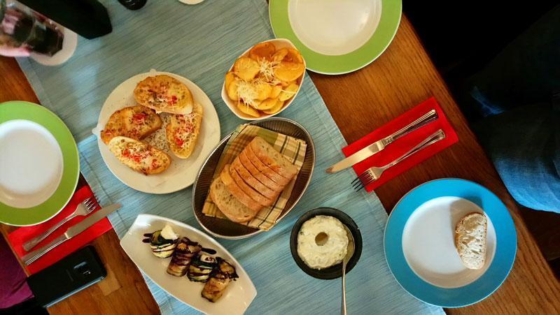 Bloggerstammtisch Berlin im griechischen Restaurant