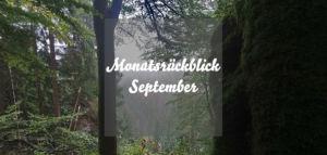 Monatsrückblick Caros Küche September 2018