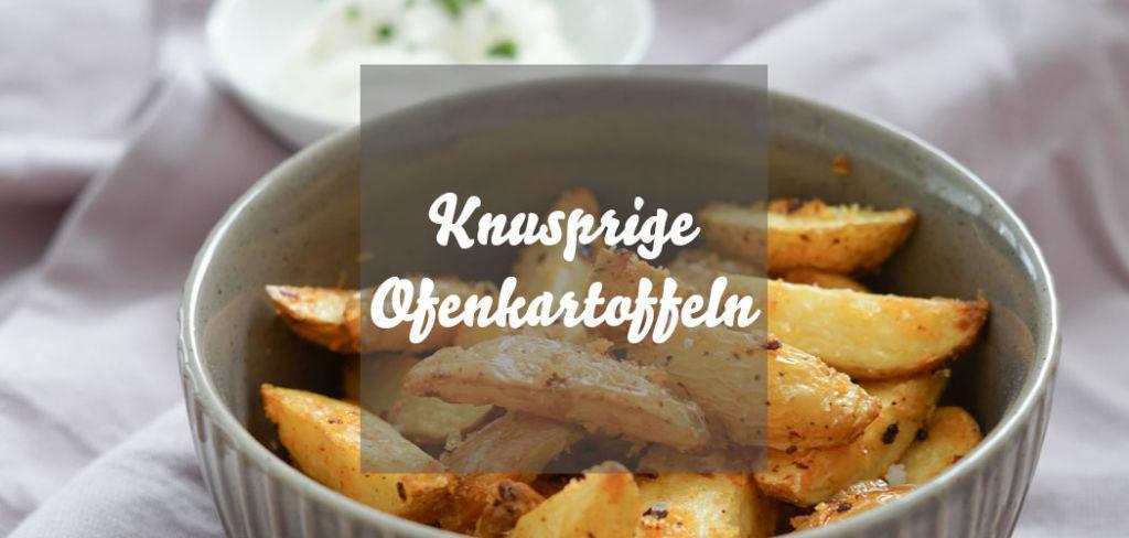 Kartoffelspalten aus dem Ofen » Rezept für leckere und knusprige Ofenkartoffeln mit einer leichten Schärfe