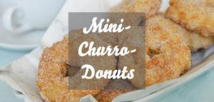 Mini Churro Donuts » leckeres Rezept für Donuts, die wie Churros schmecken