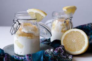 Dessert im Glas mit Zitrone & Mascarpone