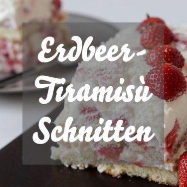 Erdbeer-Tiramisù ohne Alkohol einfach selber machen