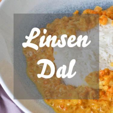 Rezept für veganes Linsen Dal mit Kokosmilch