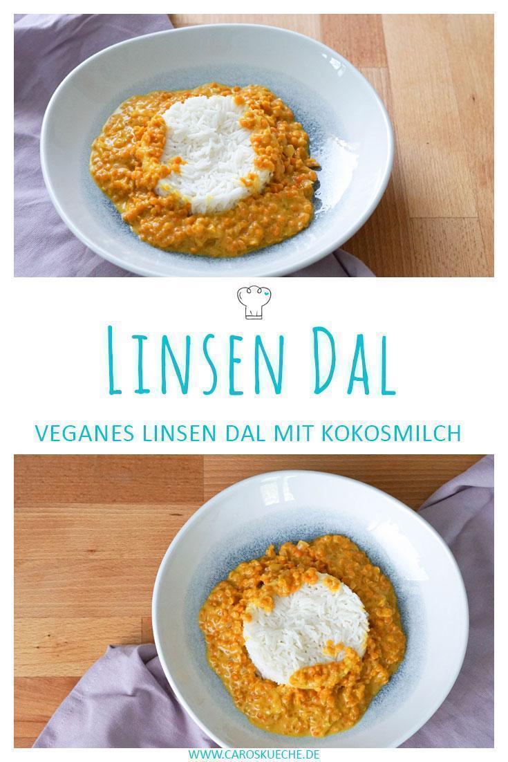 Leckers & cremiges Linsen Dal » Vegane Rezepte