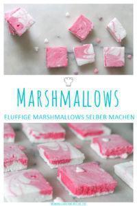 Marshmallows selber machen » einfaches Rezept zum Nachmachen