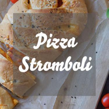 Gefüllte Pizza » Pizza Stromboli