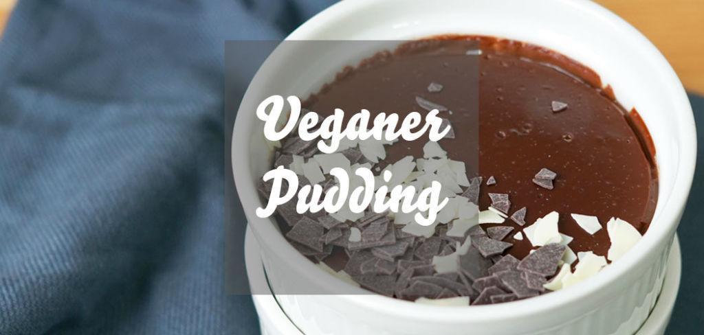 Veganer Pudding » Rezept für veganen Schokoladenpudding