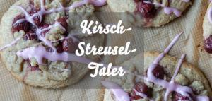 Kirsch-Streusel-Taler wie vom Bäcker