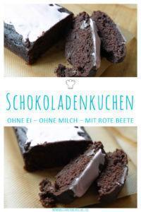 Saftiger Schokoladenkuchen aus Roter Beete