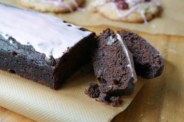 Schokoladenkuchen mit Rote Beete und Essig