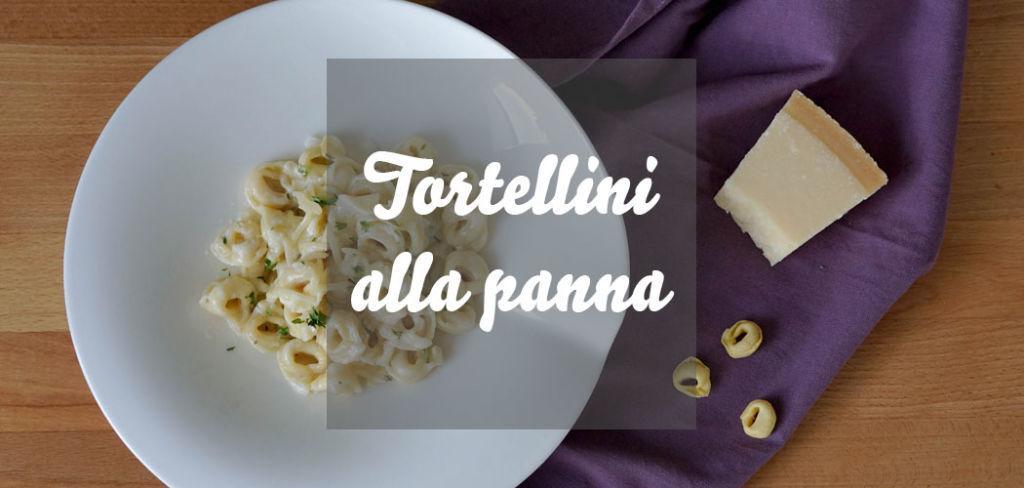 Tortellini alla panna » Rezept für schnelle Tortellini in Sahnesoße