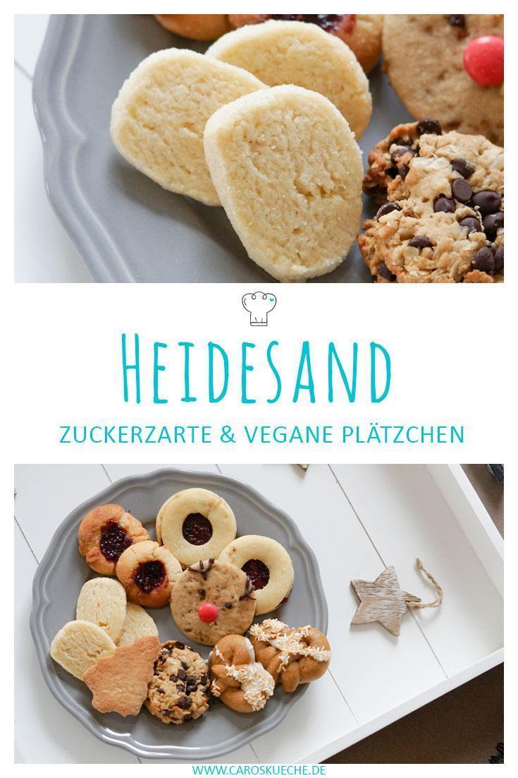 Zarter Heidesand - Weihnachtsplätzchen Rezept vegan
