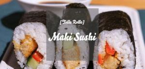 Veganes Maki Sushi selber machen