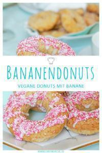 Bananendonuts vegan & einfach