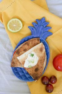 Vegane Quesadillas aus dem Backofen