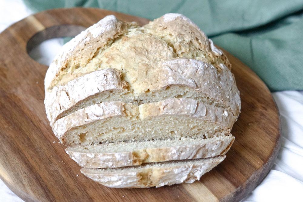 Irisches Brot mit Natron veganes Rezept