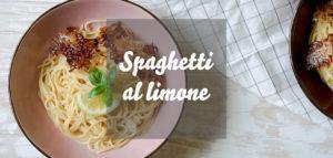 Spaghetti al Limone » Pasta mit veganer Zitronensoße